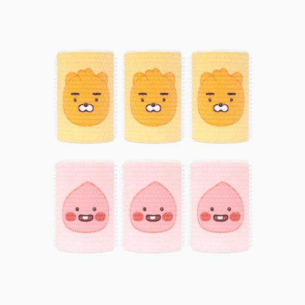 카카오프렌즈/리틀프렌즈/헤어롤 세트(3개입)