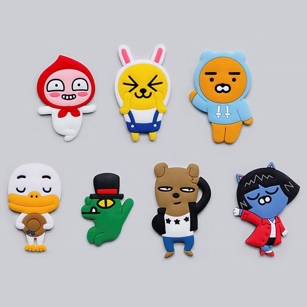 카카오프렌즈/실리콘 스티커