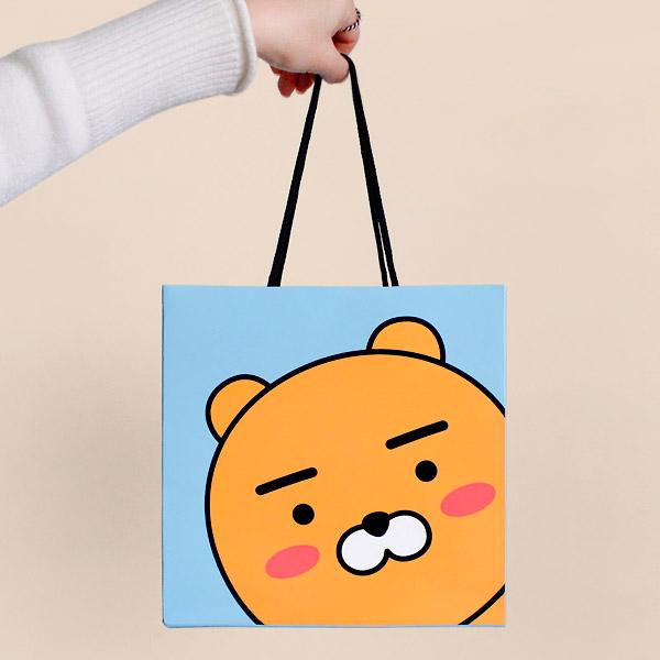 카카오프렌즈/정사각 쇼핑백