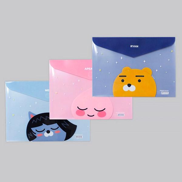 카카오프렌즈/봉투 파일
