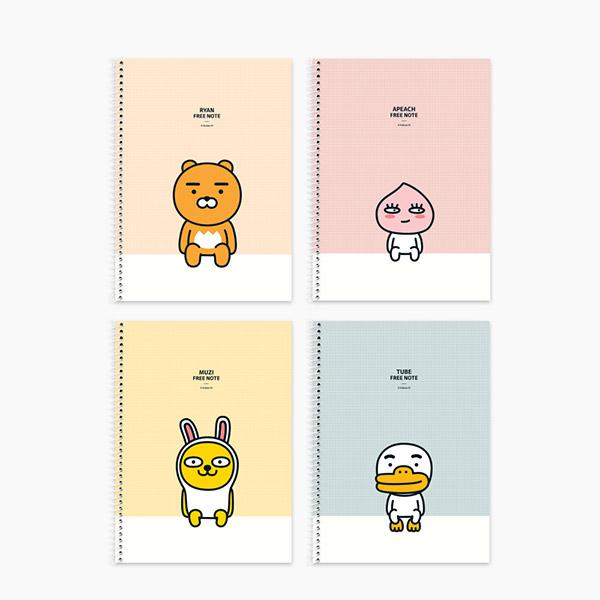 카카오프렌즈/스프링 연습장