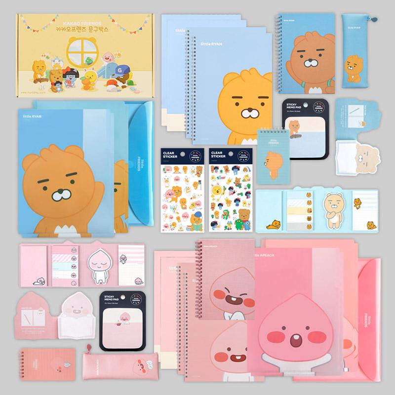 카카오프렌즈 꽉찬구성 문구세트/어린이날 선물세트
